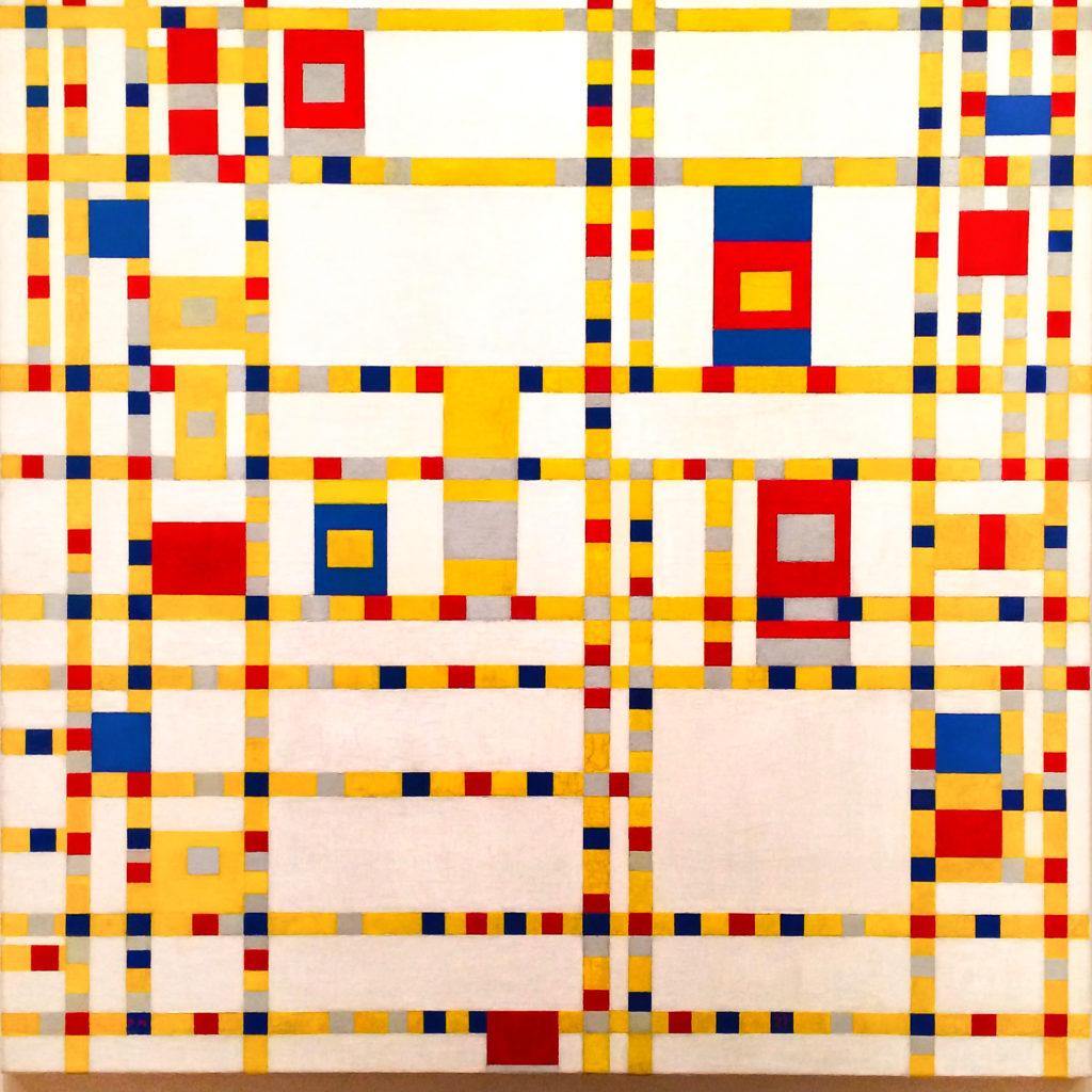 'Broadway Boogie Woogie' - Piet Mondrian, MoMA