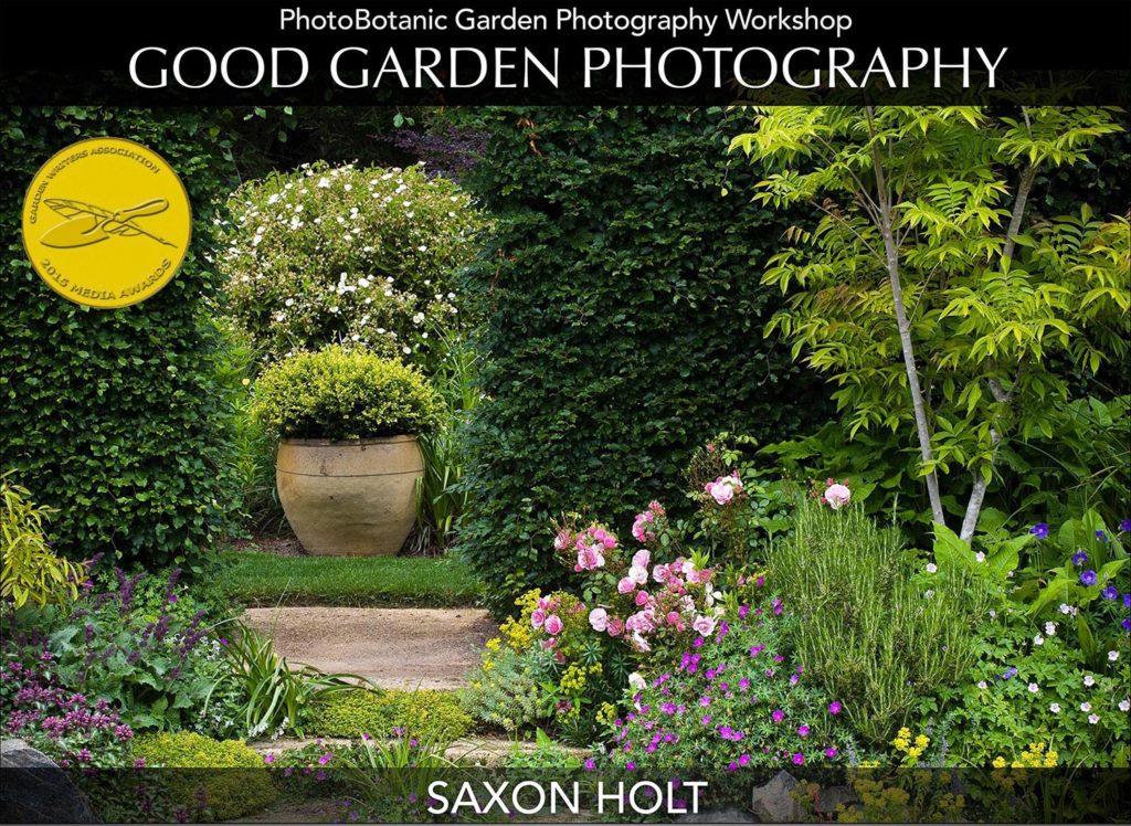 Good Garden Photography eBook cover with gold